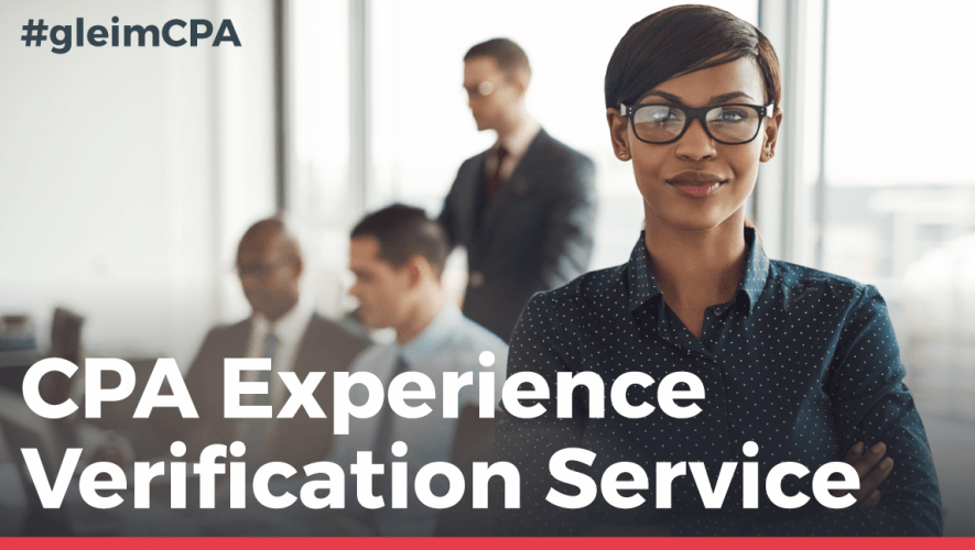 CPA Experience Verification Service