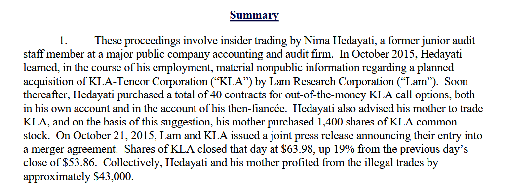 nima-Hedayati-EY-auditor-insider-trading