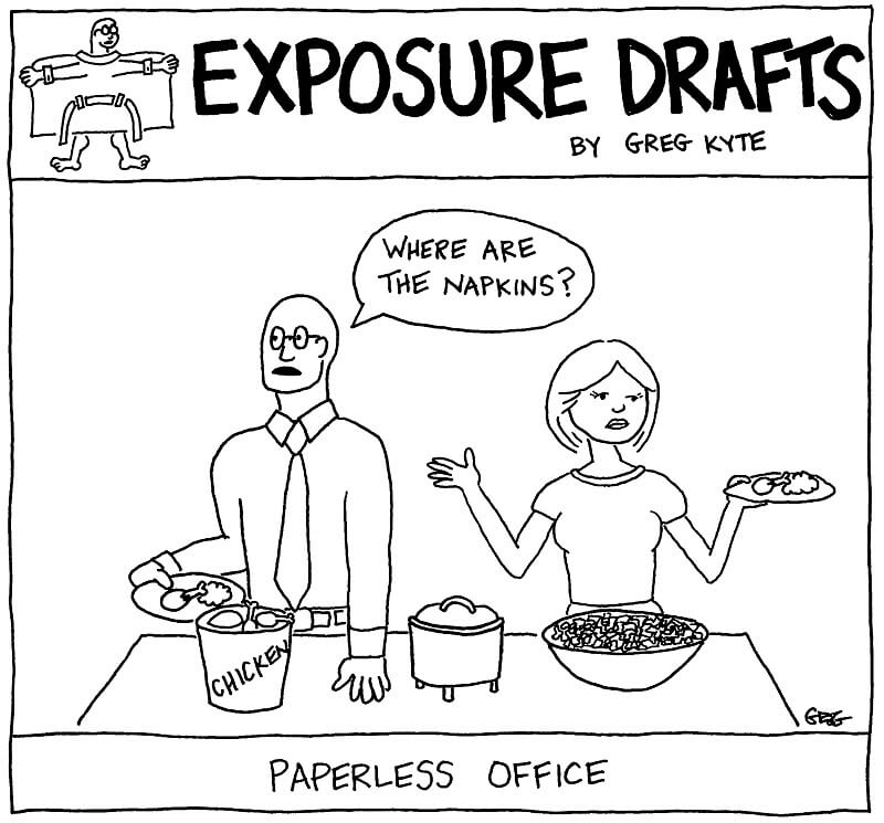 ED - Paperless Office w Pupils