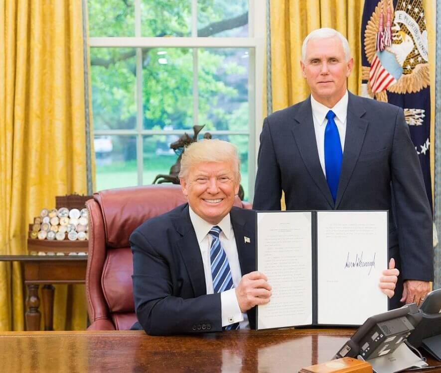 donald trump big 4 trade war