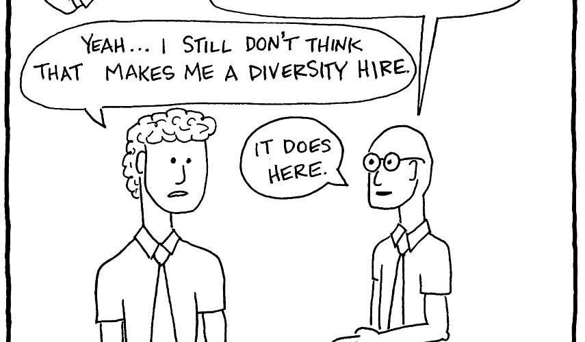 Ginger Diversity Hire accounting firm