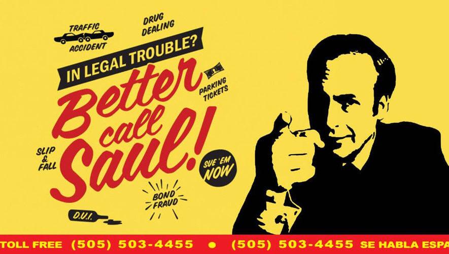 Better Call Saul ad