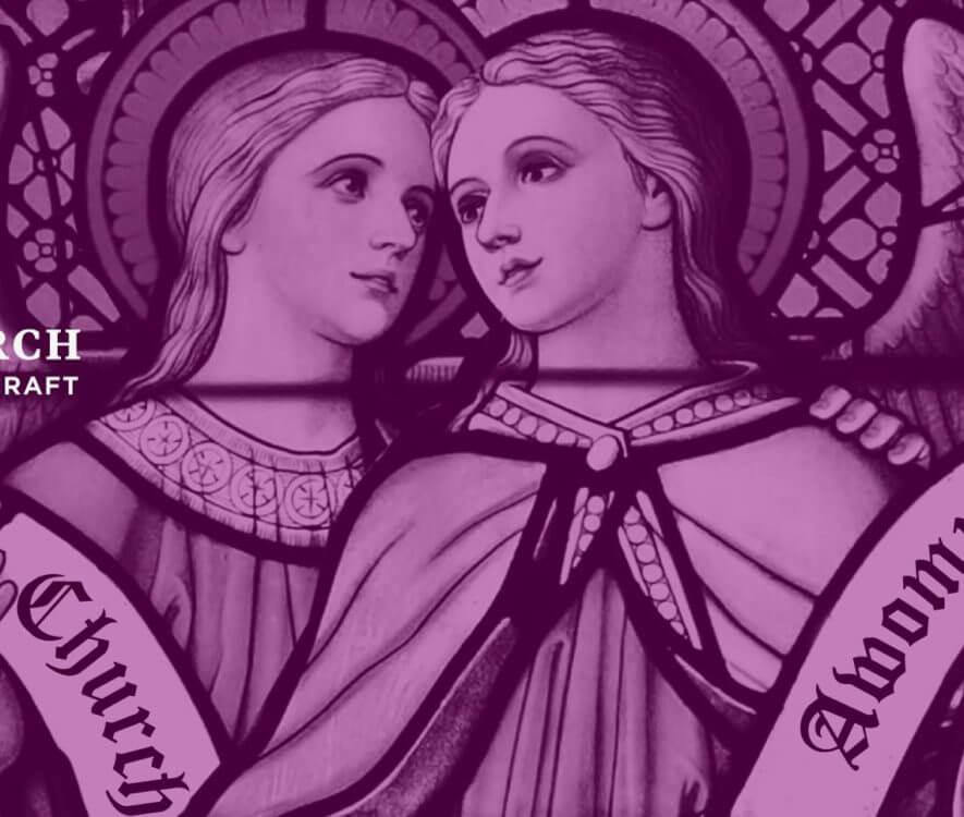 Pussy Church of Modern Witchcraft logo