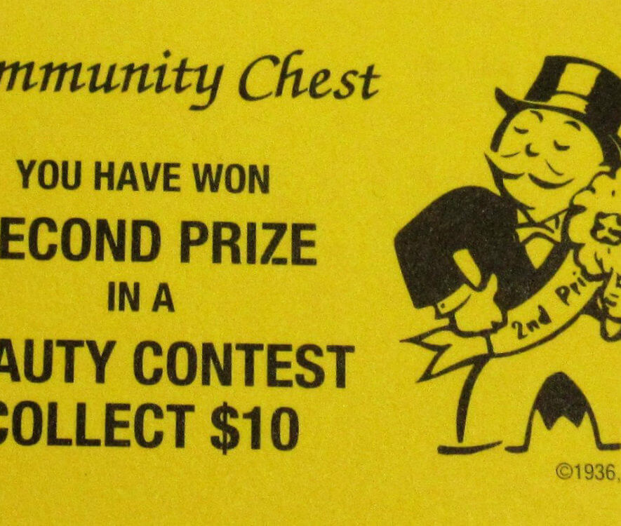 Monopoly beauty contest card