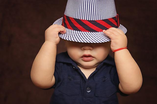 Fashionable baby