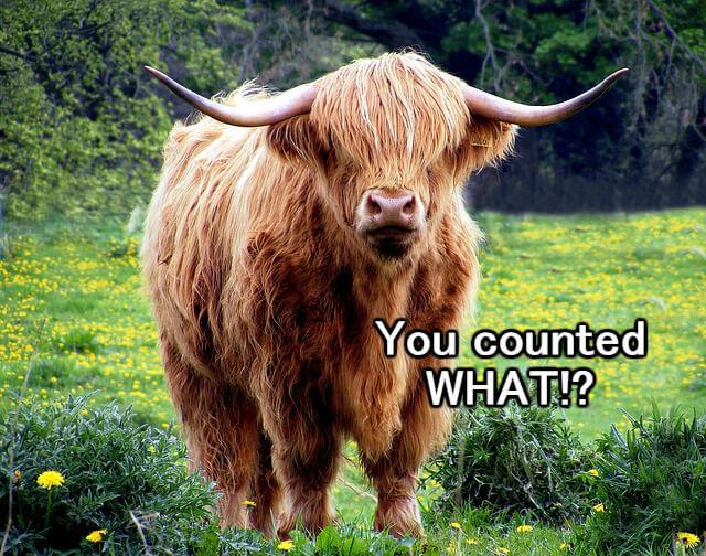 Bull semen inventory count