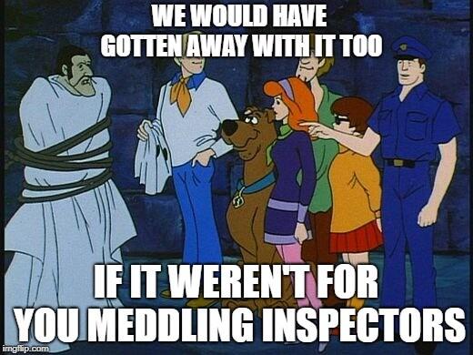 Meddling Inspectors