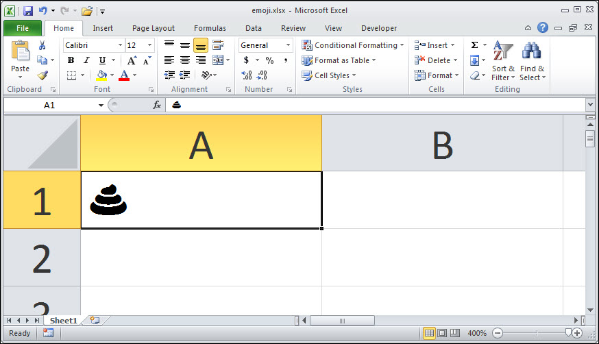 Worksheet 3 Excel How To Add A Nice Steaming Pile Of Poo To Any Excel Spreadsheet  Gas Law Problems Worksheet Word with Kids Reading Worksheets Pdf Figure  Fullcolor Emoji Transform Into Blackandwhite Equivalents In  The Desktop Versions Of Excel Photo Analysis Worksheet