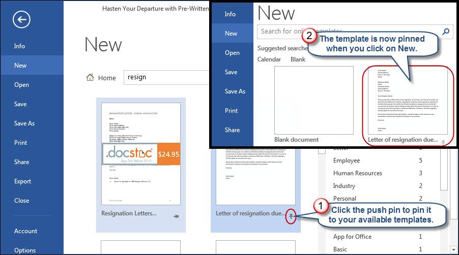 Hasten Your Departure with PreWritten Microsoft Word Resignation – Microsoft Word Resignation Letter